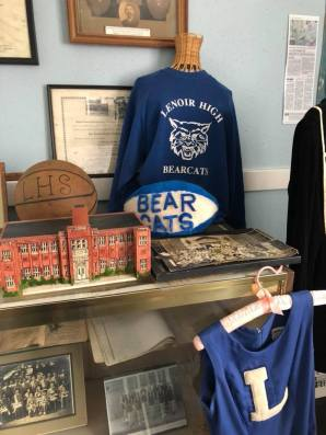 Lenoir Bear Cats at Caldwell Heritage Museum