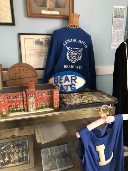 Lenoir Bear Cats at Caldwell Heritage Museum