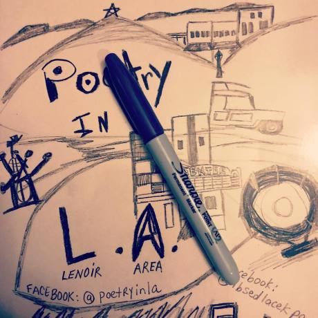 Poetry in LA book