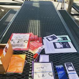 Teaching Poetry in LA at Arts Extravaganza