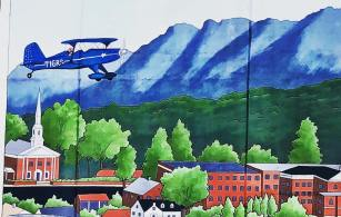 Mural in Downtown Lenoir